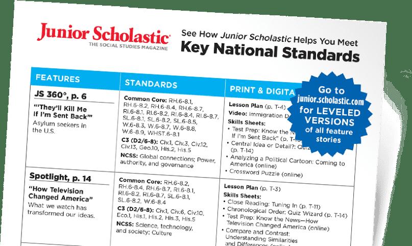 Junior Scholastic Magazine | Current Events Magazine for Grades 6-8