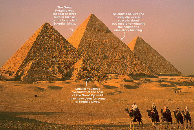 The Great Pyramid's New Mystery