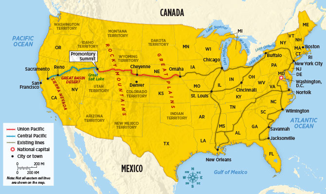 The Railroad That Changed America