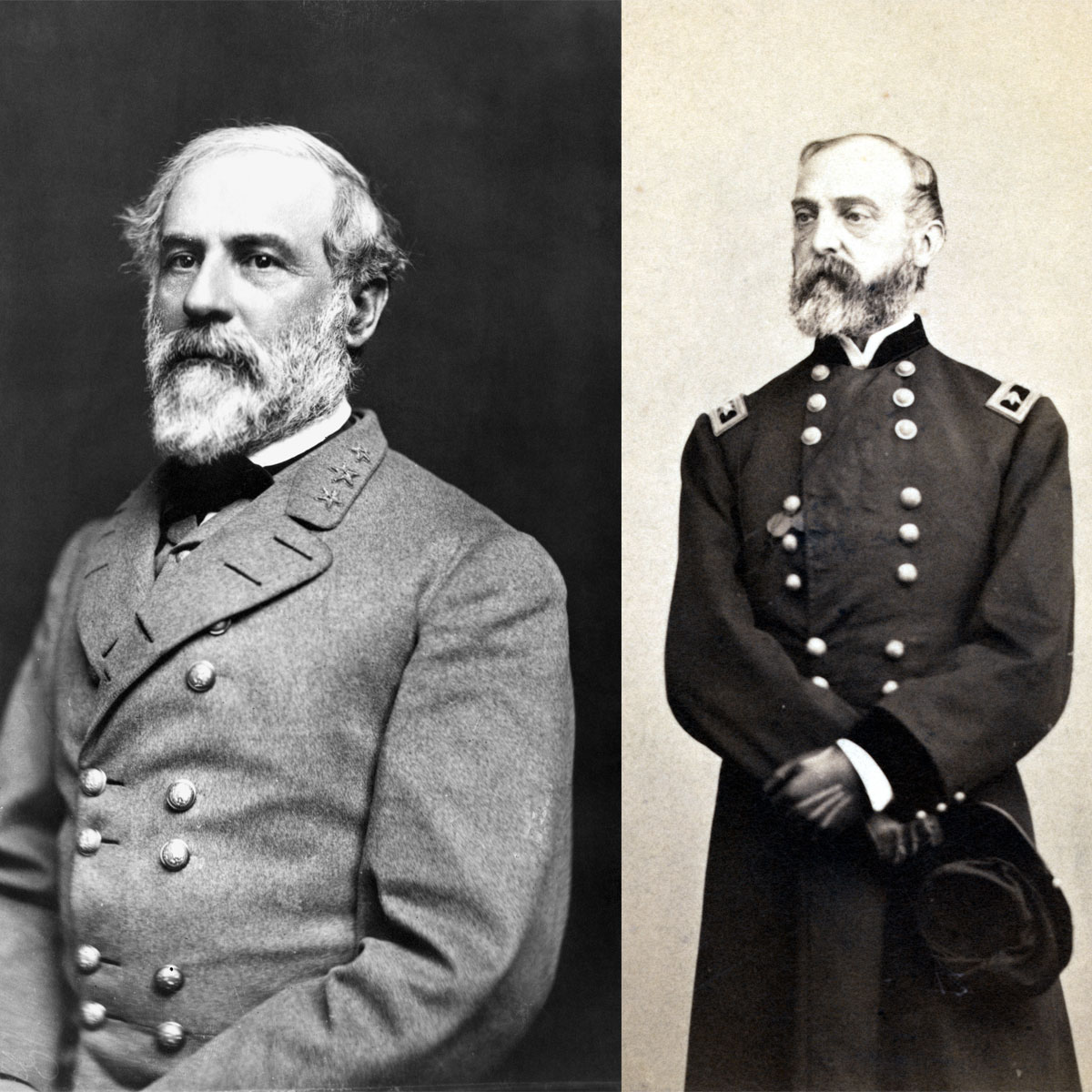 Famous Confederate Officer Coats. Lee & Pickett Frock Coats. Mosby ... | 1200x1200