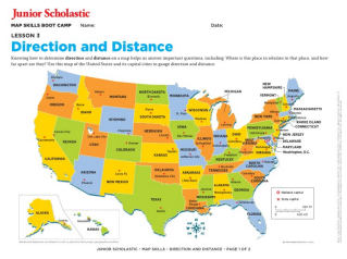 Map skills for kids grades 6 8 junior scholastic magazine geography gumiabroncs Choice Image