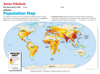 Map skills for kids grades 6 8 junior scholastic magazine geography gumiabroncs