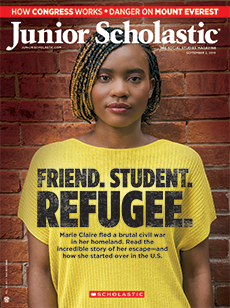 Friend Student Refugee Junior Scholastic.