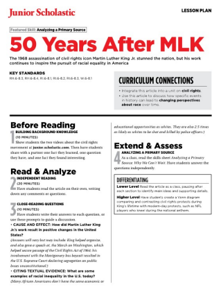 Civil Rights Movement | Free Middle School Teaching Resources